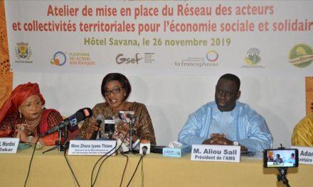 Économie sociale et solidaire: Le Réseau des acteurs et collectivités territoriales mis en place