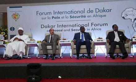 FORUM INTERNATIONAL DE DAKAR 2019 SUR LA PAIX ET LA SÉCURITÉ