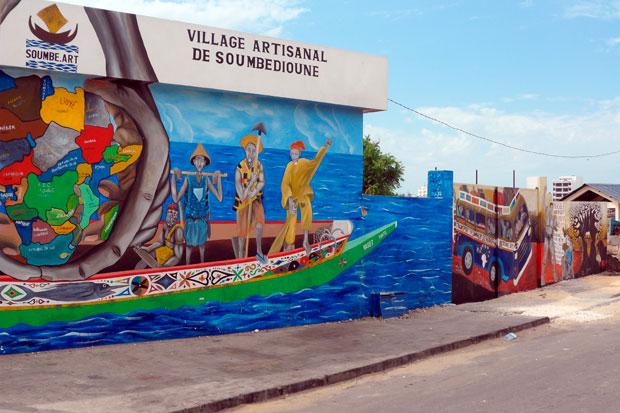 Le Village de Soumbédioune, vitrine de l'artisanat sénégalais 9