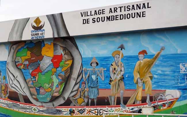 Le Village de Soumbédioune, vitrine de l'artisanat sénégalais