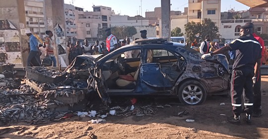 3 MORTS ET 8 BLESSÉS DONT 7 GRIÈVEMENT blessés à LA hauteur du Stade LSS