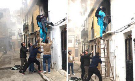 Un Sénégalais sans papier sauve un handicapé d'un incendie en Espagne