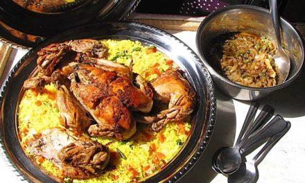 le poulet au coeur du repas de Noël à Dakar