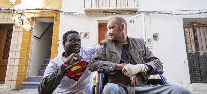 Un Sénégalais sans papier sauve un handicapé d'un incendie en Espagne 3