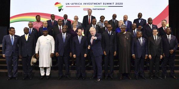 londres: Début à Londres du sommet Afrique-Royaume Uni