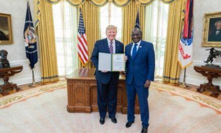 DONALD TRUMP RESTE DISPONIBLE POUR LE RENFORCEMENT DE LA COOPÉRATION SÉNÉGALO-AMÉRICAINE