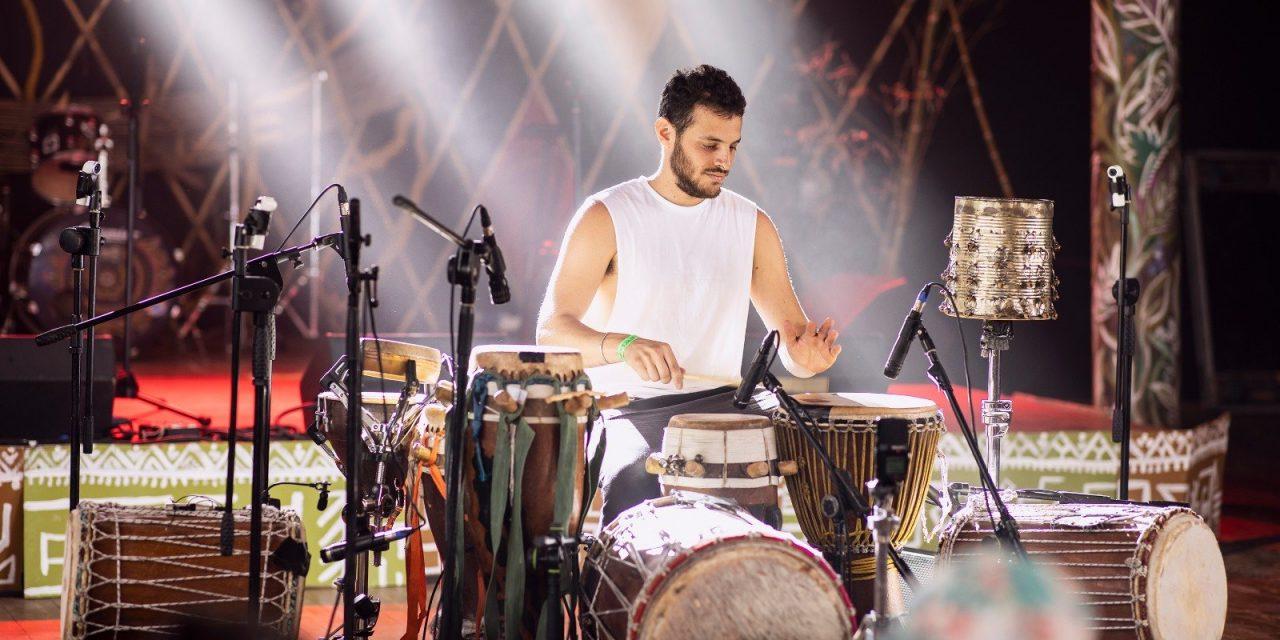 Les rythmes du mbalax explorés par un percussionniste israélien