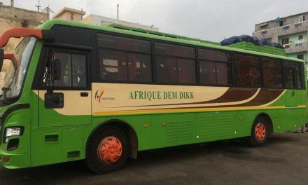 Dakar lance sa première ligne de bus inter-africaine