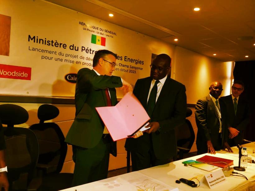 Sénégal donne le feu vert AU DÉVeloppement de la phase 1 du projet Sangomar