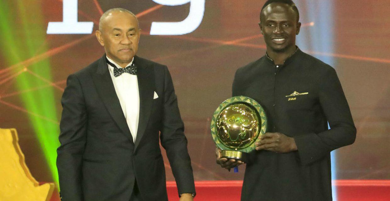 Sadio Mané meilleur joueur africain 2019