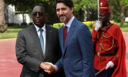 JUSTIN TRUDEAU en visite officielle au Sénégal