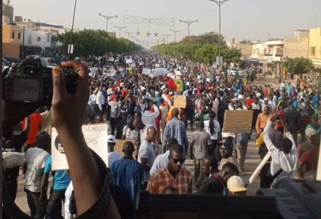 Grande mobilisation du Collectif Noo Lank à Dakar 3