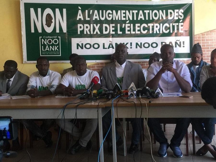 Grande mobilisation du Collectif Noo Lank à Dakar 1