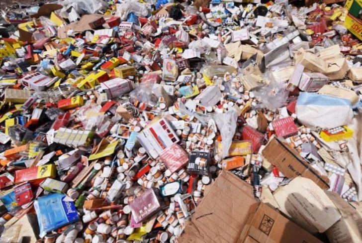 Faux médicaments: saisie d'une valeur de 100 millions de FCfa par la Douane
