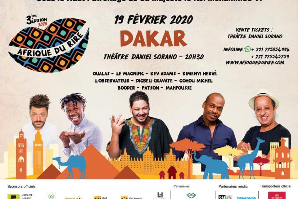L'Afrique du rire se prépare pour sa troisième édition