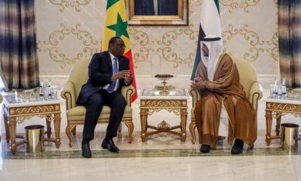 macky sall, rencontre des chefs d'entreprises aux Emirats Arabes