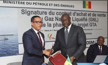 le Sénégal et la Mauritanie signent un contrat d'achat et de vente du gaz