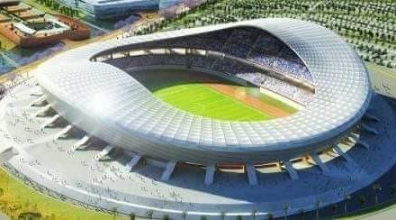 Macky Sall lance les travaux de construction du Stade du Sénégal à Diamniadio