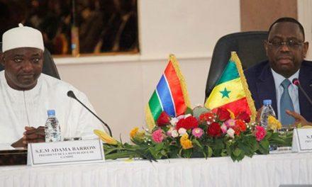 Dakar et Banjul appellent au respect des règles de libre circulation