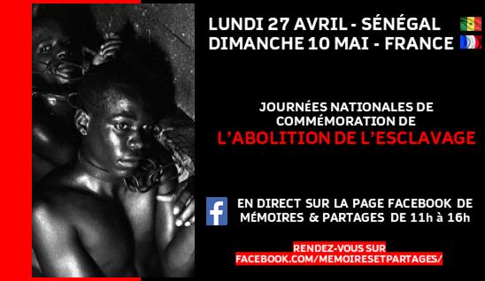 Sénégal: journée de commémoration virtuelle de la loi sur la traite des Noirs et de l'esclavage
