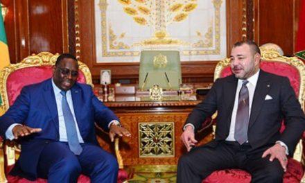 """Macky Sall remercie le Roi Mohammed VI pour l'initiative pour une réponse """"solidaire et concertée"""" contre le Covid-19"""