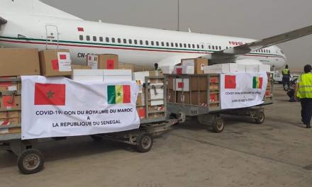 Covid-19 : le Sénégal reçoit  UN appui du matériel MÉDICAL du Maroc