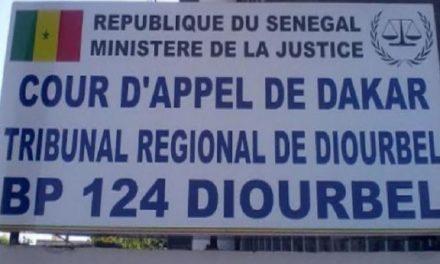 Covid-19 : les audiences suspendues au Tgi de Diourbel jusqu'au 13 juillet