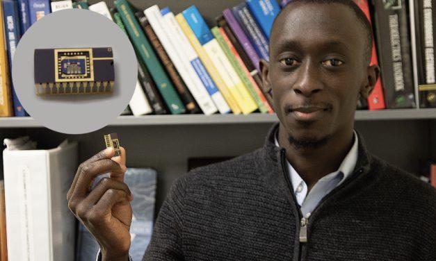 Sidy Ndao un chercheur sénégalais développe le premier ordinateur thermique au monde
