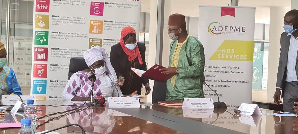 Covid-19/ l'ADEPME accorde un fond de soutien aux Entrepreneurs sénégalais de la Diaspora