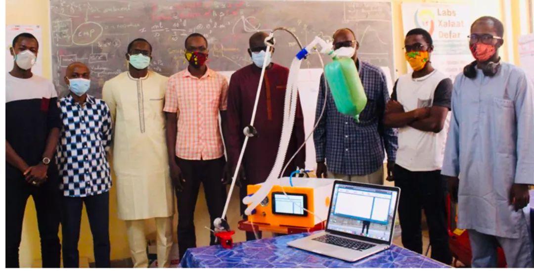 l'Ecole Polytechnique de Thiès doté d'une subvention pour la conception des premiers respirateurs artificiels au Sénégal