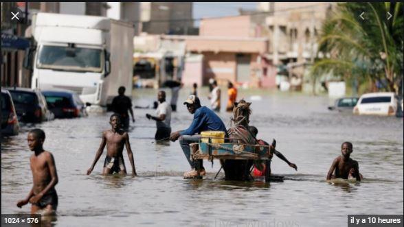 10.000 sinistrés des inondations recevront entre 100.000 et 200.000 Fcfa