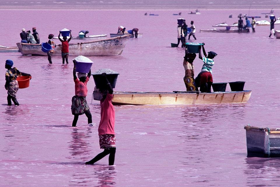 Le Lac Retba, le Lac rose du Sénégal 5