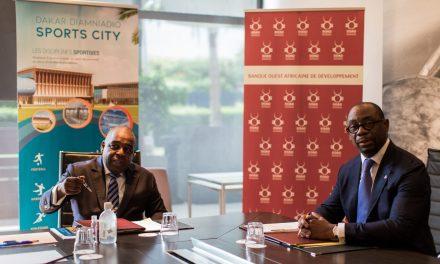 DDSC obtient 10,5 milliards FCFA de la BOAD pour la construction du complexe sportif et hôtelier de Diamniadio
