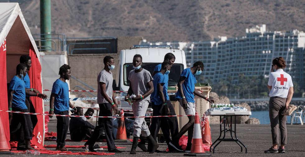 Emigration clandestine: 1.000 migrants dont plus de 900 sénégalais ont débarqué aux îles Canaries 1