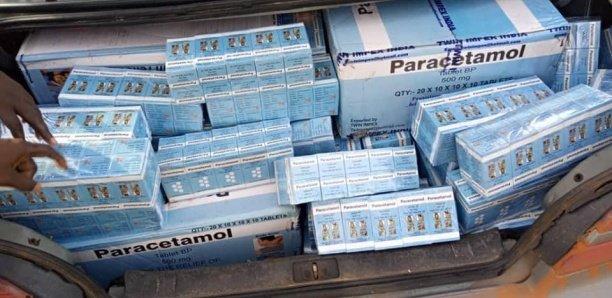 Kaffrine: 426 kg de médicaments contrefaits saisis par la Douane