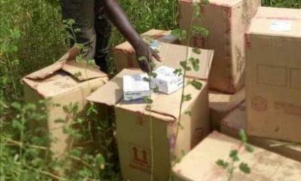 saisie de 40.000 flacons d'Artéméther injectable et 6 conteneurs d'huile végétal