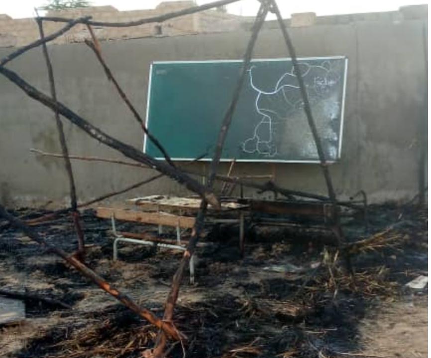 Incendie dans une école à Kaolack 1