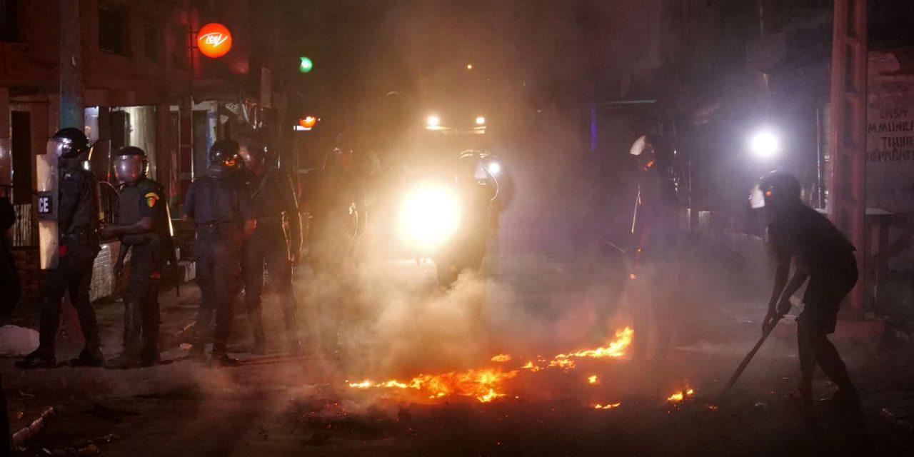 Couvre feu: Des émeutes dans la ville de Dakar