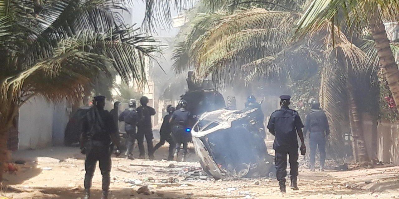 affrontements entre la police et les partisans d'Ousmane Sonko