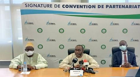 AIBD : SIGNATURE D'UNE CONVENTION EN VUE DE LA CONSTRUCTION D'UN RÉSERVOIR D'EAU POTABLE 1