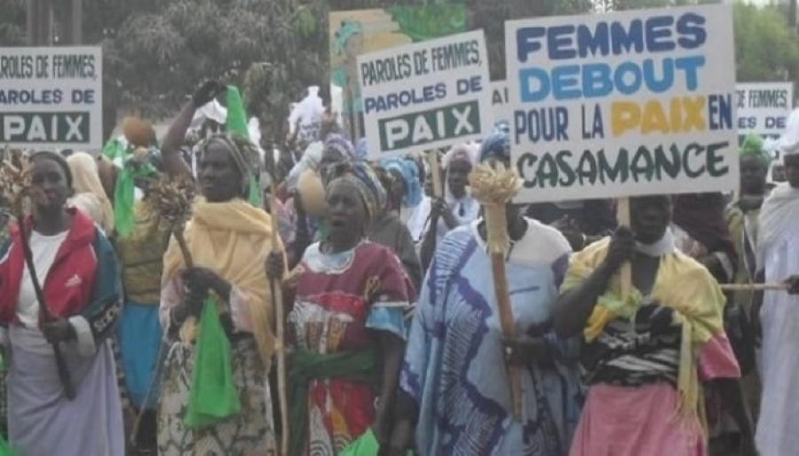DES FEMMES en casamance APPELLENT À LA CONSOLIDATION DE LA STABILITÉ DU PAYS