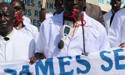 Le Syndicat autonome des médecins du Sénégal (SAMES) en grève les 15 et 16 mars 2021