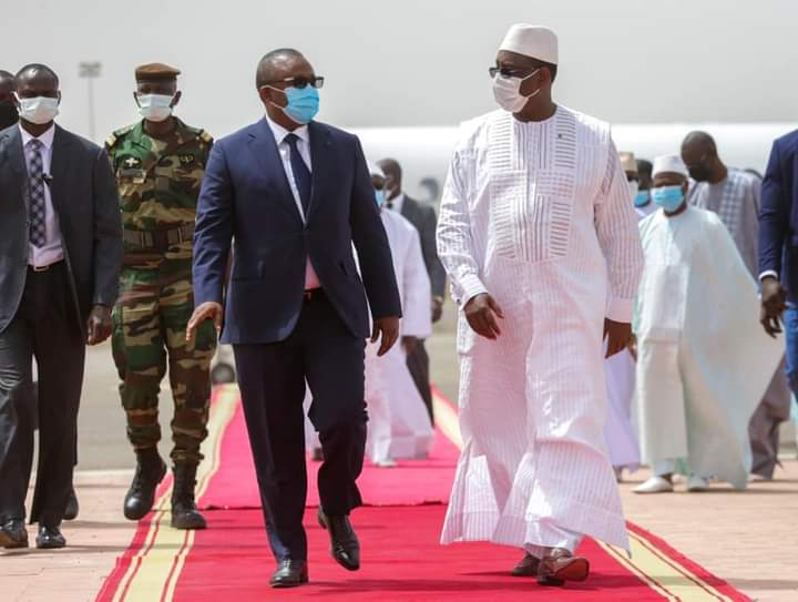 Visite du président Bissau-guinéen à Dakar