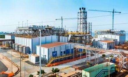 lancement des travaux de la plus grande centrale  ÉLECTRIQUE AU CAP DES BICHES