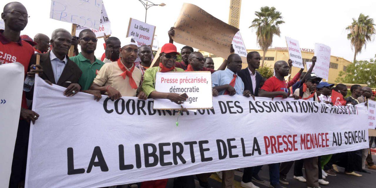 Un sit-in national prévu le 3 mai contre les violences à l'encontre de la presse sénégalaise