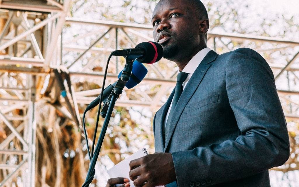 """Ousmane Sonko:  LE """"combat va continuer, ce n'est pas Macky Sall qui va m'empêcher de me présenter en 2024"""""""