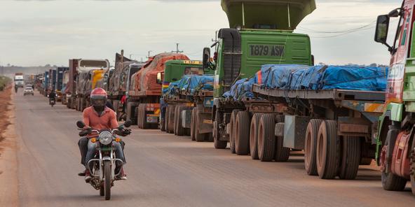 Ouverture de la frontière terrestre du Maroc