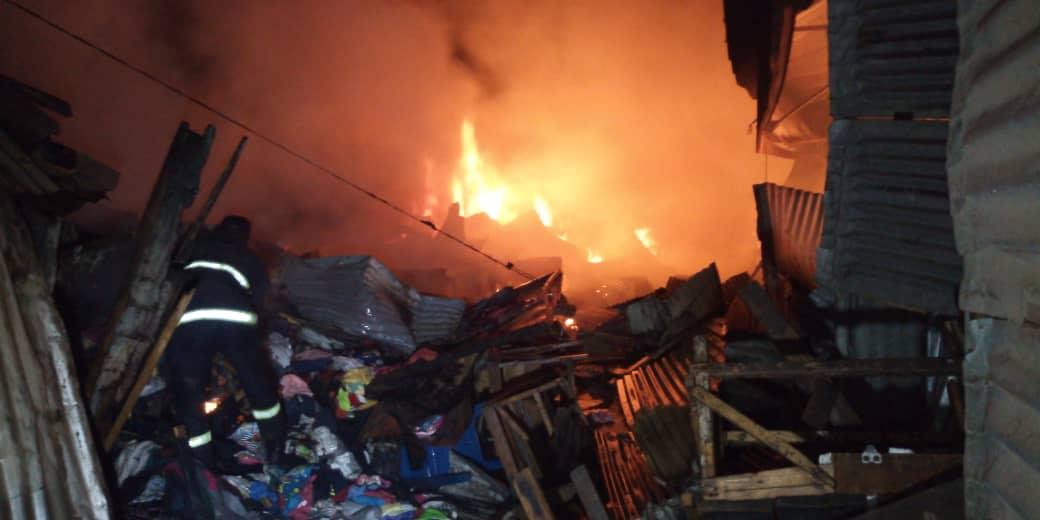 Incendie au marché de Kaolack
