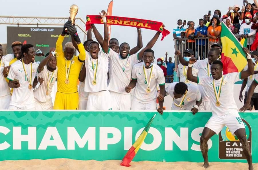 CAN de Beach Soccer : Le Sénégal sacré champion d'Afrique