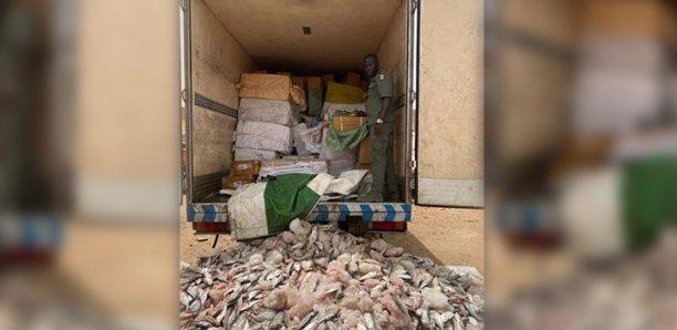 saisie record de plusieurs tonnes de médicaments à Keur Ayip